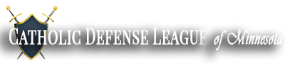 Catholic Defense League of Minnesota Logo